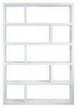 Dublin Rumdeler - Hvid - Smart rumdeler i hvid i 5 sektioner