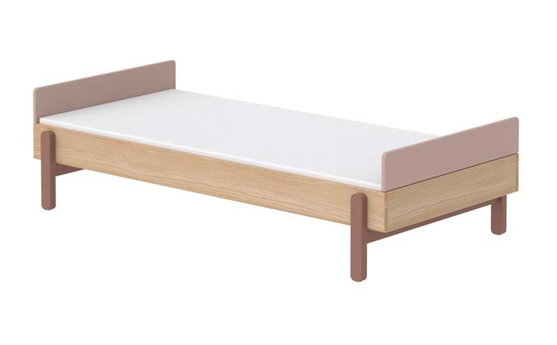 FLEXA Popsicle Børneseng m. headboard- Cherry