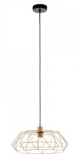 Carlton - Kobber Pendel - Kobberfarvet pendel i trendy design