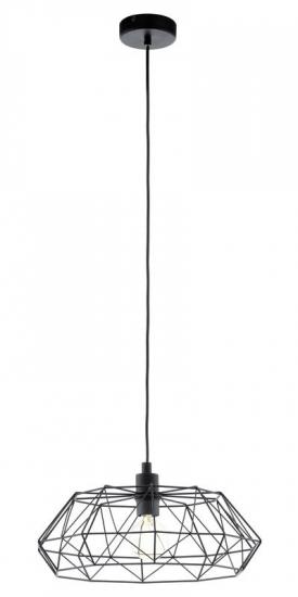 Carlton Pendel - Sort - Sort pendel i trendy design