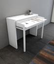 Woodman - Console Desk 16 Skrivebord - Hvid