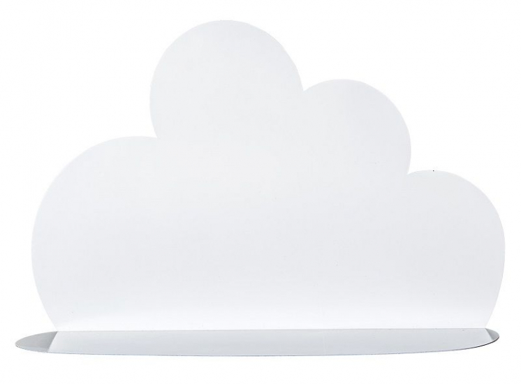 Bloomingville Cloud Hylde - Hvid - Hvit skyformet hylle