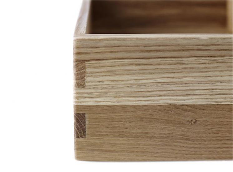 FDB Møbler - Sokkel 10x36x24 cm - Eg