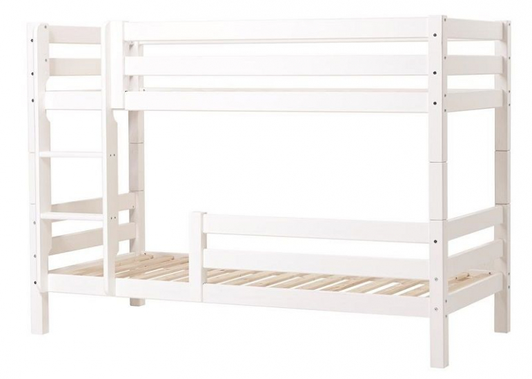 Hoppekids Premium Køjeseng - Køjeseng med sengehest- 90x200 cm