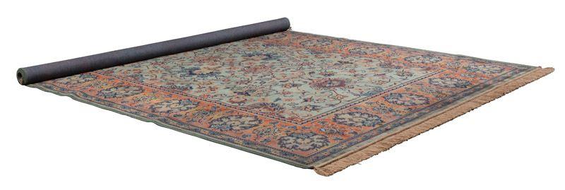 Dutchbone - Bid Tæppe 200 x 300 cm - Grøn - Grønt vævet tæppe