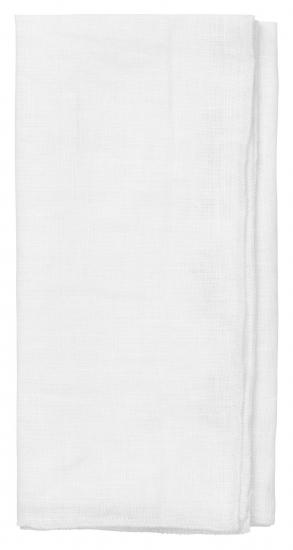 Cozy Living Skagen Linen Serviet - Hvid, 45x45