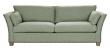 Milton 3-pers. Sofa - lys grøn Uld m. nitter