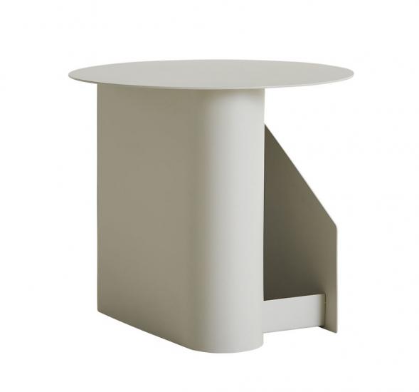 WOUD - Sentrum Sidebord - varm grå