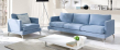 Fernley 3-pers.  Sofa - Blå