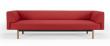 Kragelund Ebeltoft 3-pers. sofa Rød