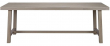 Brooklyn Spisebord - hvidvasket eg - 220x95 - Hvidvasket spisebord 220 x 95 cm