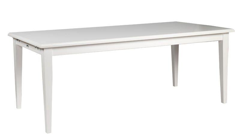Moss Spisebord - Hvid - 100x76