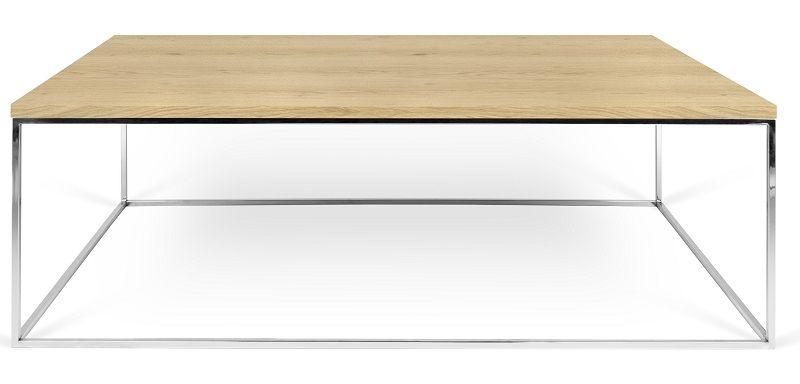 Gleam Sofabord - Lys træ - 120 cm