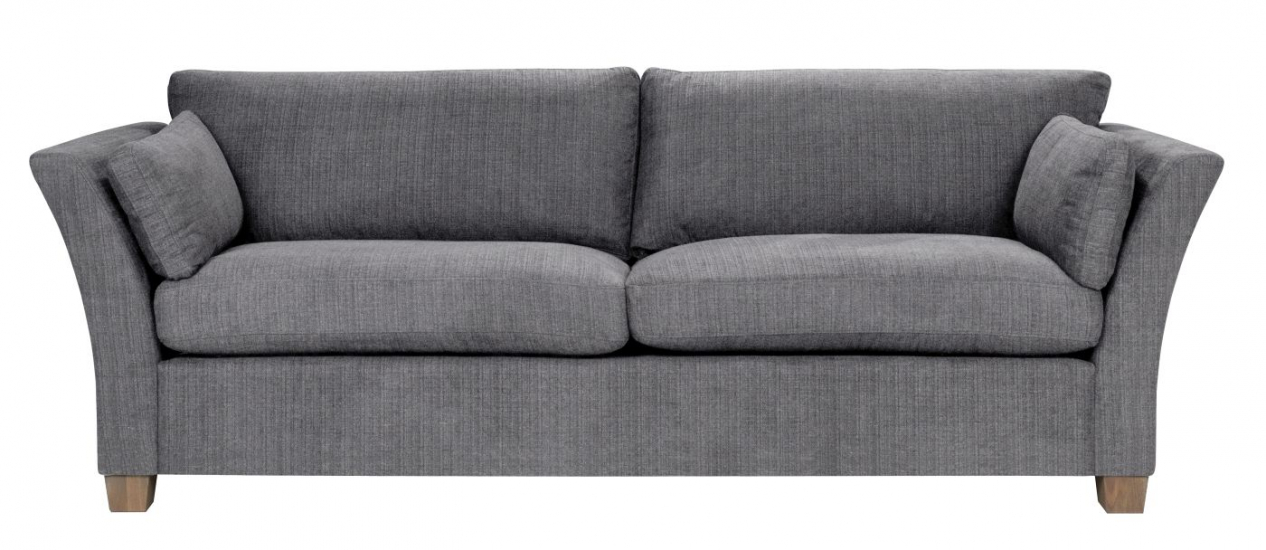 Milton 3-pers. Sofa - grå