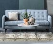 City Sofabord Ø80 - Hvid Guangxi marmor