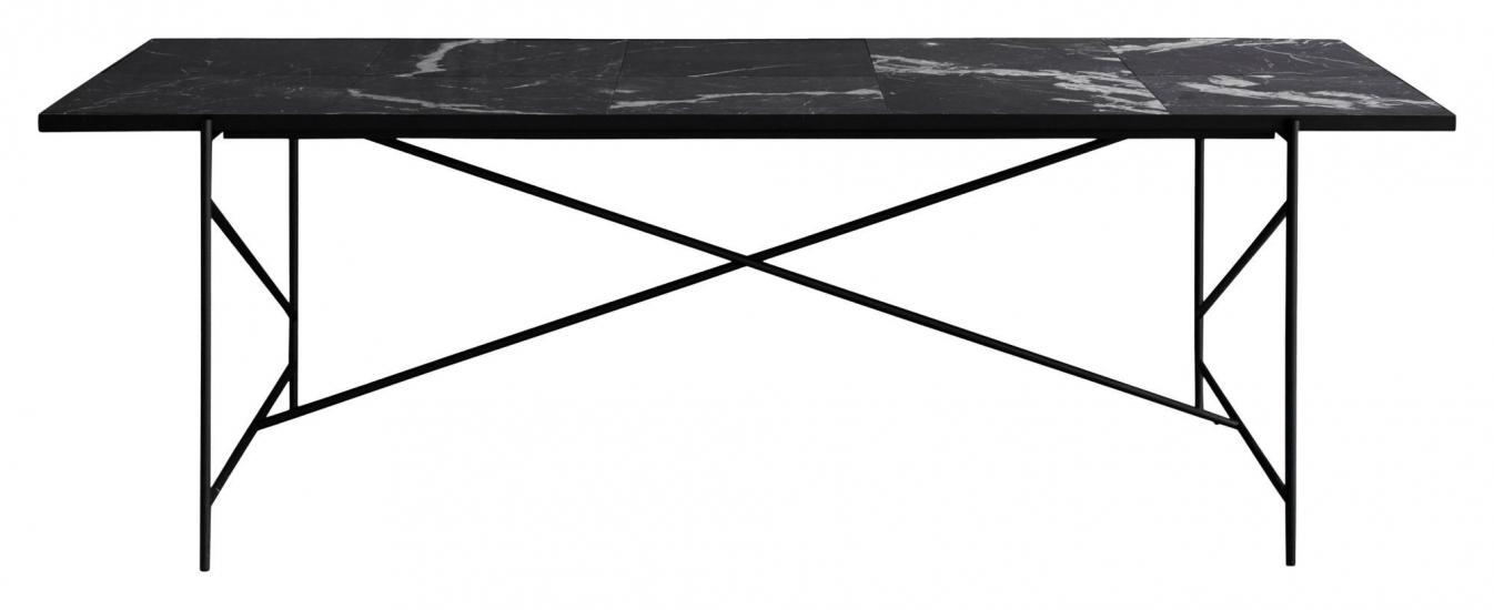 HANDVÄRK Spisebord 230x96 - Sort Marmor