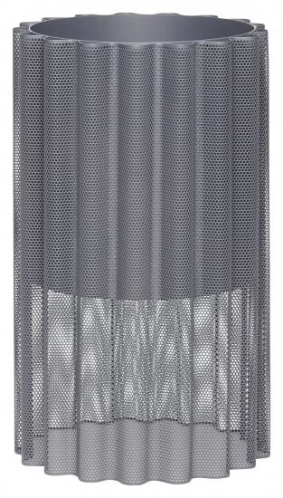 Hübsch Blomsterkrukke i grå metal