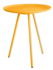 homii Frost Sidebord - Gul, Ø39 - Sidebord i i gul