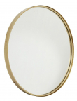 Nordal - Spejl Ø80 cm - Guldramme