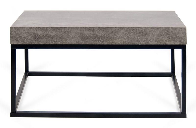 Temahome Petra Sofabord 75 - Mørk grå