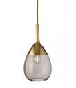 Ebb&Flow - Lute pendel, S, Chestnut / Guld