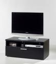Napoli Tvbord - Sort B:94 - Lille TV-bord i sort ask
