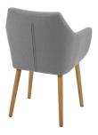 Amada Spisebordsstol - Lysegrå