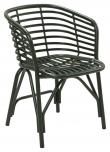 Cane-line Blend stol, OUTDOOR, Grøn