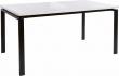 Sandra Spisebord Hvid Højglans 160x90