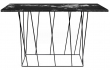 Helix Konsolbord - Sort - Konsolbord i sort marmor
