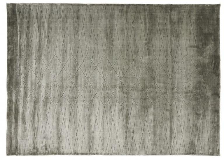 Linie Design Edge Tæppe - Grøn - 200x300 - 200x300 cm