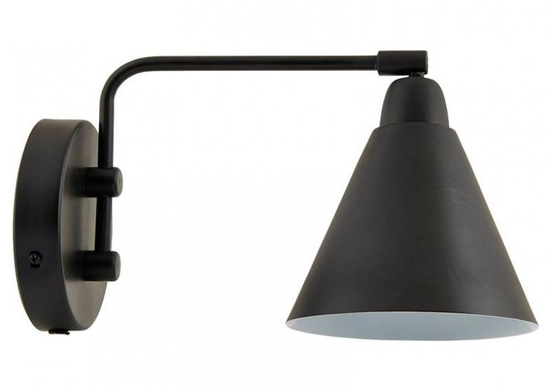 House Doctor Game Væglampe, Mat sort - Væglampe i mat sort