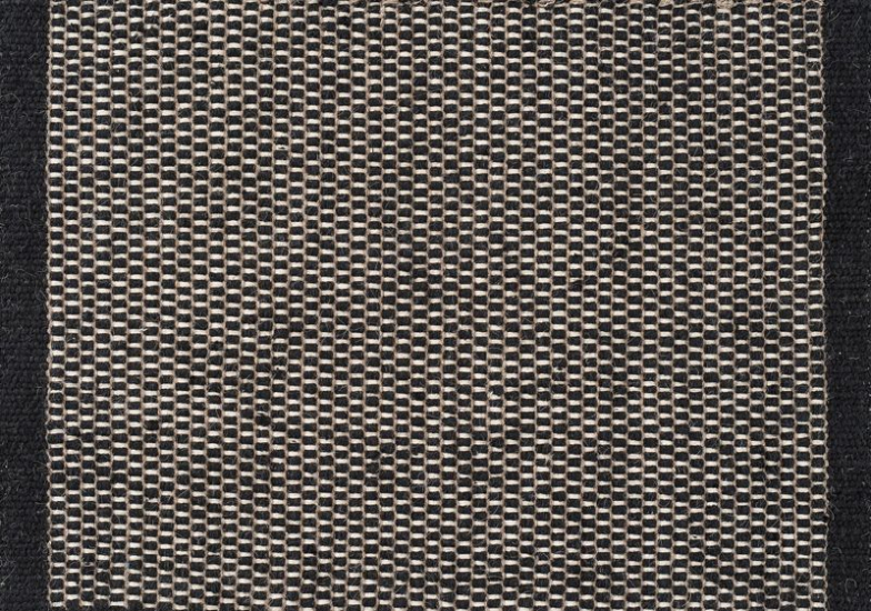 Linie Design Asko Tæppe - Sort - 140x200 - 140x200 cm