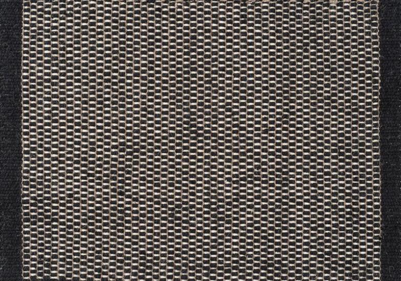 Linie Design Asko Tæppe - Sort - 170x240 - 170x240 cm