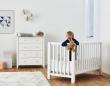 Hoppekids - Anton Babyseng 120x60 - Hvid