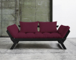 Bebop Sovesofa Bordeaux/Sort