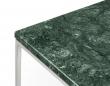 Temahome - Gleam Sidebord - Grøn m/krom stel 50 cm
