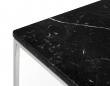 Temahome - Gleam Sidebord - Sort m/krom stel 50 cm