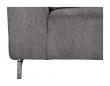 Zuiver - Dragon 3-pers. sofa - Lys grå fløjl