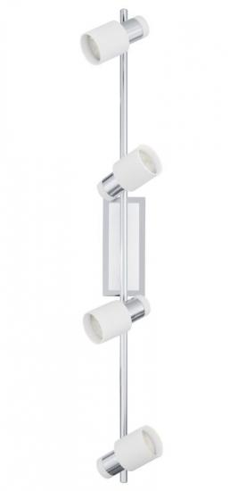 Davida LED 4 Spot - Metal/hvid