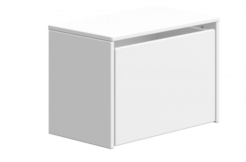 FLEXA Play Opbevaringsbænk - Hvid
