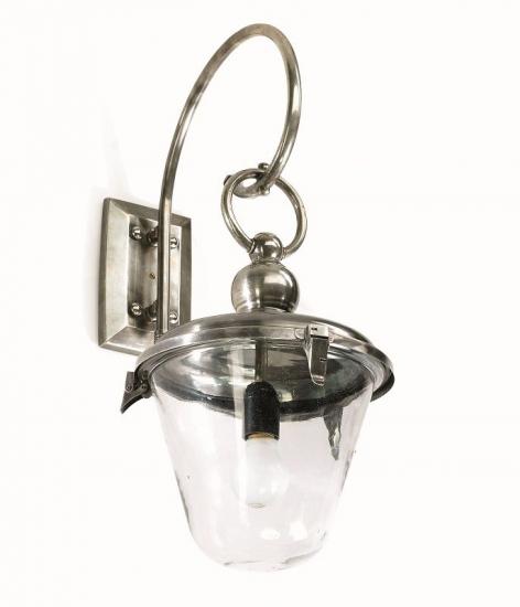 Nordal - Udendørs Væglampe - Sølv - Fin udendørs lampe