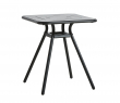 WOUD - Ray Cafébord 65x65 - Charcoal black