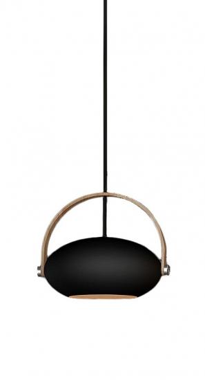 Halo Design D.C pendel Ø26 Sort m/egetræ 250cm cable