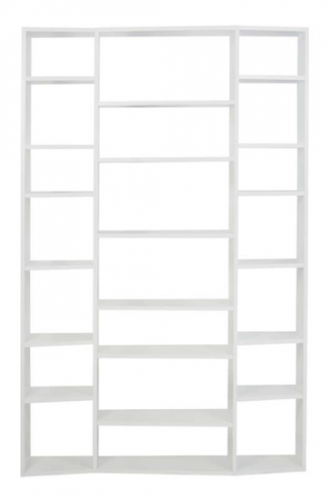 Temahome Valsa Reol - Hvid 21 rum B:144 - Hvit bokreol med store og små rom