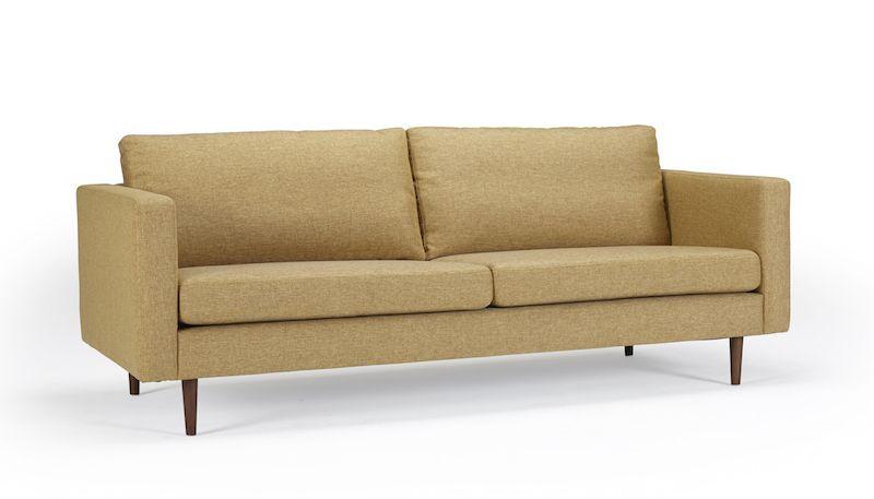 Kragelund Otto 3-pers. sofa Gul