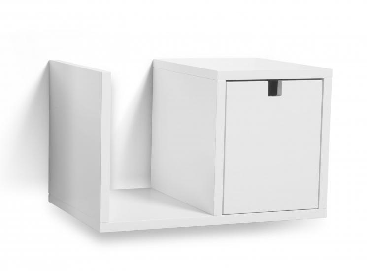 Mavis - Falsterbo Væghængt Sengebord - Hvid - Væghængt sengebord fra Mavis i hvid