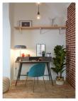 Kave Home Mystere Spisebordsstol Grøn velour