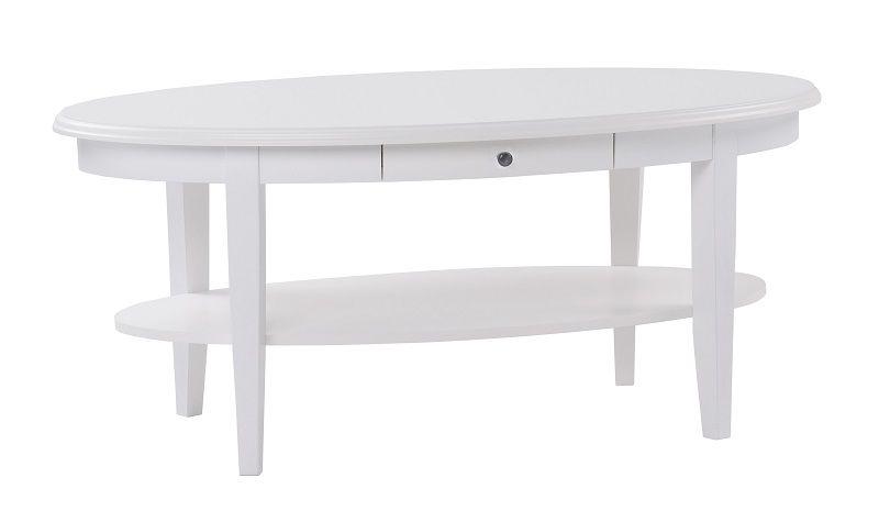 Koster Sofabord ovalt - Hvid