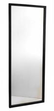 Confetti Spejl - Sort - 150x60 - Spejl m. ramme i sort
